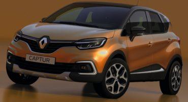 Renault Captur 2017 restylé